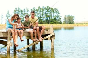 activité camping lac