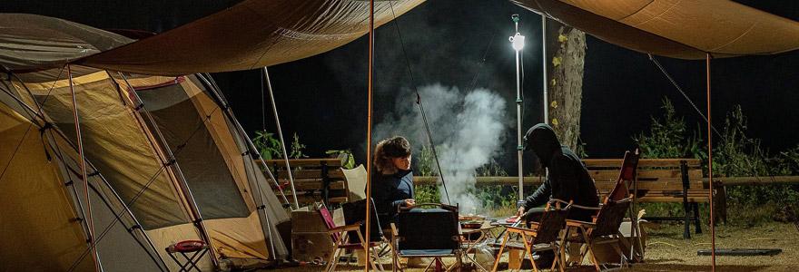 Camping, mobil home, eco lodge, excurions, vélo, trottinette électrique, nourriture bio,